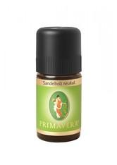 PRIMAVERA - Primavera Health & Wellness Ätherische Öle Sandelholz neukaledonisch 5 ml - KÖRPERCREME & ÖLE