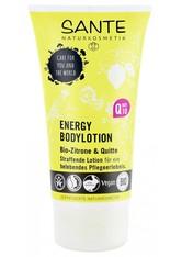 SANTE - Sante Energy Bodylotion Bio-Zitrone & Quitte 150 ml - Hautpflege - KÖRPERCREME & ÖLE