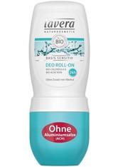 LAVERA - Lavera Basis Sensitiv Deo Roll on 50 ml - Deodorant - DEODORANTS