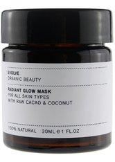 EVOLVE ORGANIC BEAUTY - evolve organic beauty Radiant Glow Mask 60 ml - Gesichtsmaske - MASKEN