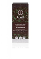 Khadi Naturkosmetik Produkte Pflanzenhaarfarben - Natürliches Nussbraun 100g Pflanzenhaarfarbe 100.0 g