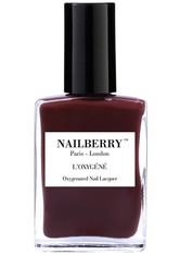 Nailberry Nägel Nagellack L'Oxygéné Oxygenated Nail Lacquer Dial M For Maroon 15 ml