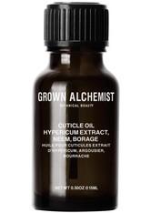 Grown Alchemist Cuticle Oil Hypericum Extract, Neem, Borage Nagelöl  no_color