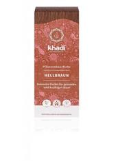 Khadi Naturkosmetik Produkte Pflanzenhaarfarben - Hellbraun 100g Pflanzenhaarfarbe 100.0 g