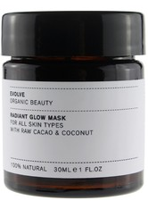 Evolve Organic Beauty Hautpflege Radiant Glow Mask Maske 60.0 ml