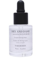 NAILBERRY - Nailberry Dry and Dash Inca Inchi Oil Drying Drops Nagellacktrockner 15 ml - NAGELPFLEGE