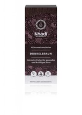 Khadi Naturkosmetik Produkte Pflanzenhaarfarben - Dunkelbraun 100g Pflanzenhaarfarbe 100.0 g