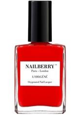 Nailberry Nägel Nagellack L'Oxygéné Oxygenated Nail Lacquer Cherry Cherie 15 ml