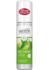 Lavera Körperpflege Body SPA Deodorants Bio-Limone & Bio-Verveine Deodorant Spray 75 ml