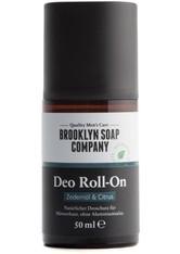 BROOKLYN SOAP COMPANY - Brooklyn Soap Produkte Körper - Deo Roll-On 50ml Deodorant Roller 50.0 ml - DEODORANT