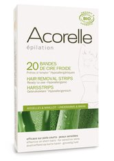 ACORELLE - Acorelle Ready to Use Aloe Vera and Beeswax Underarms and Bikini Strips – 20 Streifen - WAXING