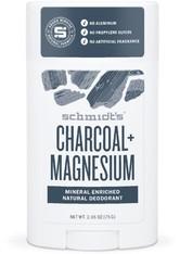 SCHMIDT'S DEODORANT - Schmidt's Deodorant Charcoal + Magnesium Stick 75 Gramm - DEODORANTS