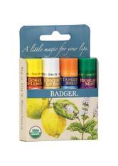 BADGER BALM - Badger Balm Blue Classic Lip Balms 16.4 Gramm - Lippenpflege - LIPPENBALSAM