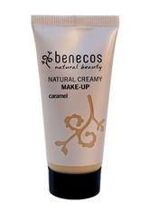 benecos Foundation Natural Creamy Make Up - Caramel 30ml Foundation 30.0 ml