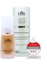CMD Naturkosmetik Produkte Natural Serum Deluxe mit Hyaluron & Seide 30ml Anti-Aging Pflege 30.0 ml