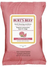 BURT'S BEES - Burt's Bees Facial Cleansing Towelettes - Pink Grapefruit (30 Stück) - CLEANSING