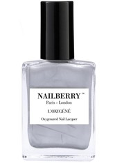 Nailberry Nägel Nagellack L'Oxygéné Oxygenated Nail Lacquer Silver Lining 15 ml