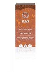 Khadi Naturkosmetik Produkte Pflanzenhaarfarben - Goldbraun 100g Pflanzenhaarfarbe 100.0 g