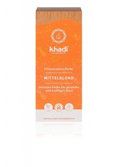 Khadi Naturkosmetik Produkte Pflanzenhaarfarben - Mittelblond 100g Haarfarbe 100.0 g