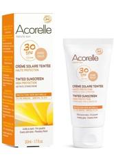 ACORELLE - Acorelle Organic Tinted SPF30 Sunscreen – Gold 50 ml - SONNENCREME