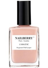Nailberry Nägel Nagellack L'Oxygéné Oxygenated Nail Lacquer A Touch Of Powder 15 ml
