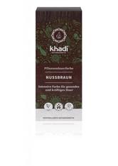 Khadi Naturkosmetik Produkte Pflanzenhaarfarben - Natürliches Nussbraun 100g Haarfarbe 100.0 g