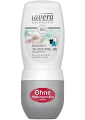 Lavera Basis Sensitiv Körperpflege Invisible 24h Deodorant Roll-On 50 ml