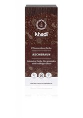 Khadi Naturkosmetik Produkte Pflanzenhaarfarben - Aschbraun 100g Pflanzenhaarfarbe 100.0 g