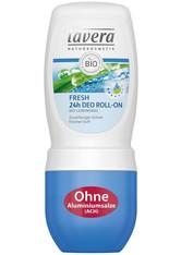 Lavera Basis Sensitiv Körperpflege Fresh 24h Deodorant Roll-On 50 ml