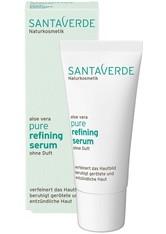 Santaverde Produkte Pure - Refining Serum ohne Duft 30ml Feuchtigkeitsserum 30.0 ml