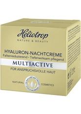 HELIOTROP - Heliotrop Multiactive Hyaluron Nachtcreme 50 ml - NACHTPFLEGE