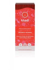 Khadi Naturkosmetik Produkte Pflanzenhaarfarben - Reines Henna Rot 100g Pflanzenhaarfarbe 100.0 g