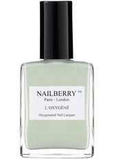 Nailberry Nägel Nagellack L'Oxygéné Oxygenated Nail Lacquer Minty Fresh 15 ml