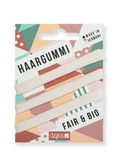 DEGREE CLOTHING - Degree Clothing Produkte Degree Clothing Produkte Fair Haar Gummi - ecru 3er Blister Haargummi 1.0 pieces - Haarbänder & Haargummis