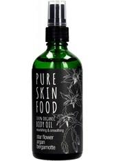 PURE SKIN FOOD - Pure Skin Food Körper- & Massageöl mit Bergamotte 100 ml - KÖRPERCREME & ÖLE