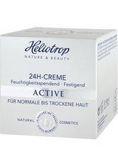 HELIOTROP - Heliotrop ACTIVE Heliotrop ACTIVE 24h-Creme Gesichtscreme 50.0 ml - Tagespflege