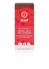 Khadi Naturkosmetik Produkte Pflanzenhaarfarben - Henna. Amla & Jatropha 100g Haarfarbe 100.0 g