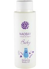 Naobay natural & organic Baby Relaxing Body Oil 200 ml - Hautpflege