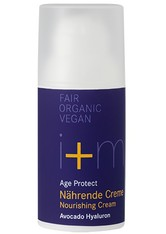 I+M NATURKOSMETIK - I + M Naturkosmetik Age Protect Nährende Creme Avocado Hyaluron 30 ml - TAGESPFLEGE
