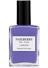 Nailberry Nägel Nagellack L'Oxygéné Oxygenated Nail Lacquer Blue Bell 15 ml