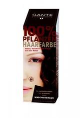 Sante Produkte Haarfarbe - Maronenbraun 100g Pflanzenhaarfarbe 100.0 g
