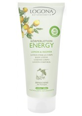 LOGONA - Logona Körperlotion Energy Lemon & Ingwer 200 ml - Hautpflege - KÖRPERCREME & ÖLE