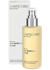 Santaverde Gesichtspflege Aloe Vera Blüte Age Protect Toner Gesichtswasser 30.0 ml