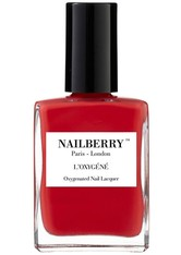 Nailberry Nägel Nagellack L'Oxygéné Oxygenated Nail Lacquer Pop My Berry 15 ml