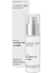 Santaverde Gesichtspflege Age Protect - Serum 30ml Feuchtigkeitsserum 30.0 ml