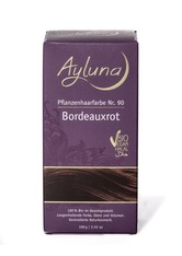 Ayluna Naturkosmetik Produkte Haarfarbe - Nr.90 Bordeauxrot 100g Haarfarbe 100.0 g