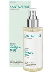 Santaverde Produkte Pure - Clarifying Toner ohne Duft 100ml Gesichtswasser 100.0 ml
