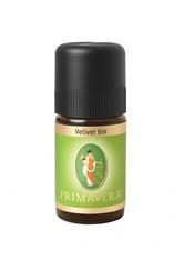 Primavera Health & Wellness Ätherische Öle bio Vetiver bio 5 ml