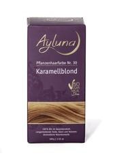 Ayluna Naturkosmetik Produkte Haarfarbe - Nr.30 Karamellblond 100g Haarfarbe 100.0 g