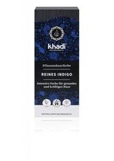 Khadi Naturkosmetik Produkte Pflanzenhaarfarben - Indigo Schwarz 100g Pflanzenhaarfarbe 100.0 g